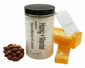 Saunasalz Honig + Mandel Meersalz