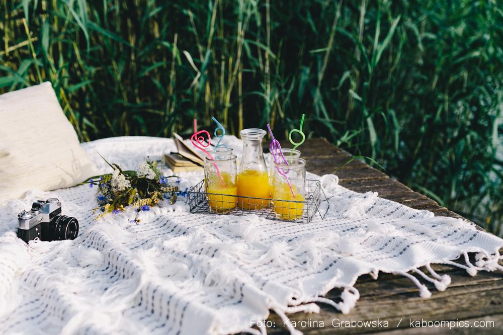 Picknicks mit Freunden